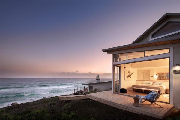 Lekkerwater Beach Lodge - Bedroom at night_resize