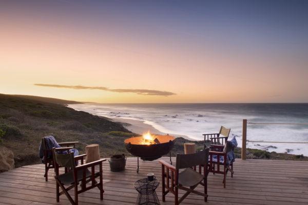 Lekkerwater Beach Lodge - Main area views at dusk_resize